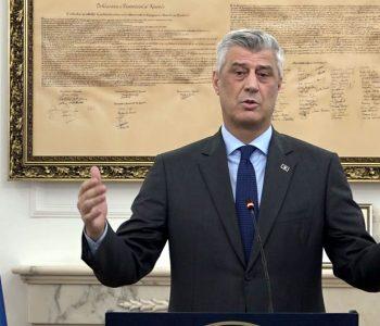Presidenti i Kosovës: Në paktin final me Serbinë edhe…