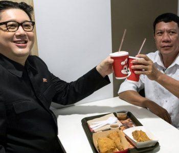 """E paparë! Duterte dhe Kim Jong Un """"takohen"""" në Hong Kong"""