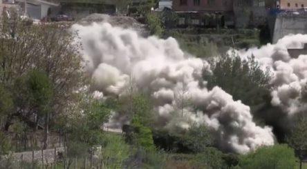 IKMT hedh në erë pallatin 5-katësh në Çorovodë