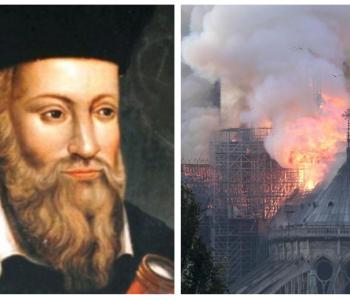 """""""Një simbol i krishterimit do të digjet"""", Nostradamus parashikoi zjarrin e Notre Dame 500 vite më parë!"""