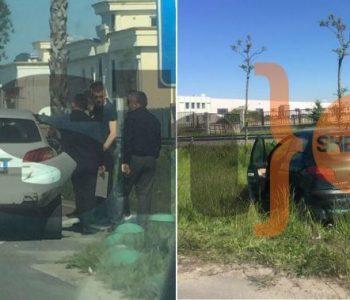 Aksident në autostradën Tiranë-Durrës, rëndohet trafiku (Foto)