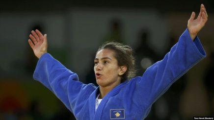 Majlinda Kelmendi fiton medaljen e artë në Lojërat Evropiane
