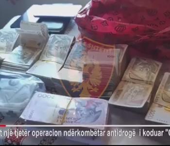 Operacion antidrogë në Shqipëri dhe 6 vende të BE-së, mbi 42 persona të arrestuar (Video)