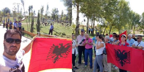 Shoqëria civile proteston kundër memorialit turk