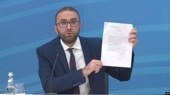 Bardhi nxjerr dokumentin: Agim Kajmaku ishte në kërkim nga drejtësia greke (Foto)