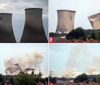 Shkatërrimi i 3 kullave lë pa energji elektrike 40 000 shtëpi (Foto-Video)