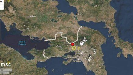 Panik në Greqi, tjetër tërmet shumë pranë Athinës