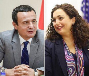 Kurti: Unë kryeministër, Vjosa Osmani kryeparlamentare