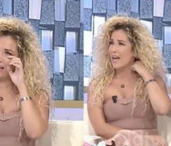 Moderatorja Fatma Haxhialiu përlotet në emision, tregoi vështirësitë e familjes (Video)
