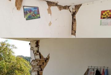 Pasojat e tërmeteve, banesat bëhen të pabanueshme, ja dëmet (Foto)