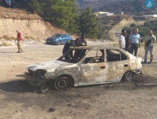 E rëndë në Greqi, shqiptari gjendet i djegur brenda makinës – Dyshimet e para (Foto)