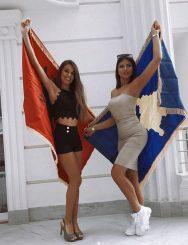 """Ja kush janë 2 vajzat bukuroshe që përfaqësojnë Shqipërinë dhe Kosovën në """"Miss Globe"""" (Foto)"""