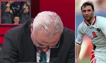 Racizmi ndaj Anglisë, shpërthen në lot legjenda e futbollit bullgar (VIDEO)