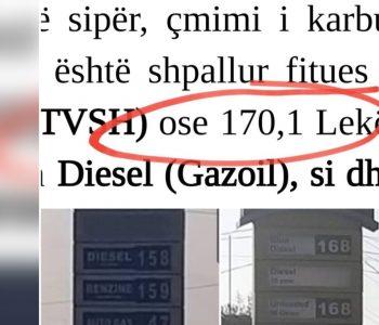Shehaj: Tenderi për blerjen e karburantit u zhvillua me një çmim më të lartë se çmimi i pakicës