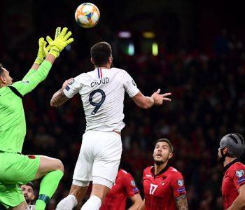"""Përfundon përballja Shqipëri-Francë, """"gjelat"""" na mposhtin në shtëpinë e re"""