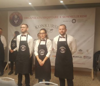 Sommelieri më i mirë në botë, Vaccarini, në jurinë e kampionatit në Tiranë