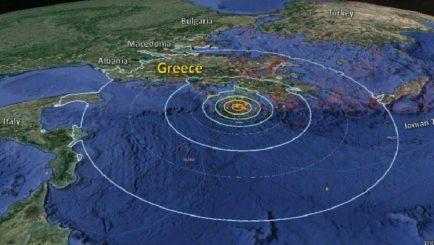 Dy lëkundje të forta tërmeti në Greqi