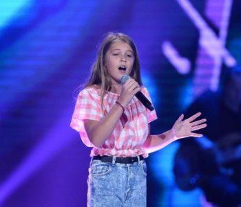 """Vajza shqiptare ngre në këmbë jurinë dhe publikun e """"The Voice Kids"""" në Poloni (VIDEO)"""