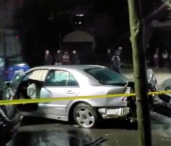 Aksident i rëndë në Vlorë, plagosen tre persona (FOTO/VIDEO)