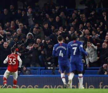 """Derbi i Londrës, Arsenal """"mbijeton"""" me 10 lojtarë ndaj Chelsea (VIDEO)"""