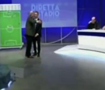 Fitorja e Milanit, gazetari shfrenohet dhe e tepron në studio (Video)
