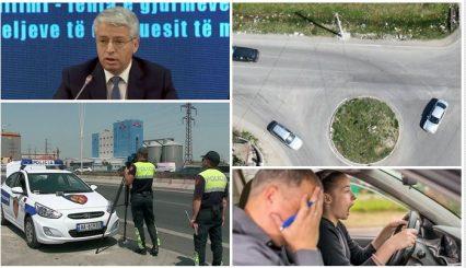 """Ndryshime në Kodin Rrugor, qeveria nuk e ka me rrugët por me shoferët, fut """"testin e idiotit"""""""