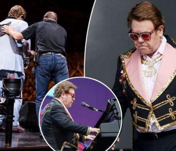 """""""Më falni, nuk jam mirë"""", në gjendje të rëndë shëndetsore Elton Jonh largohet nga koncerti"""