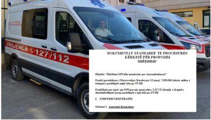 """Buton paniku dhe GPS për """"të vëzhguar"""" të sëmurët në ambulanca"""