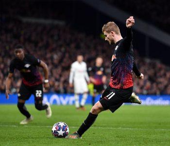 Tottenham del me kokën ulur nga stadiumi, gjermanët e Leipzig bëjnë mrekullinë