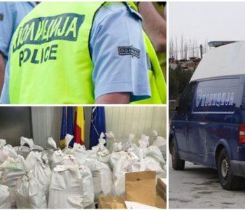U kap në Maqedoninë e Veriut, kamioni me 1.3 tonë kokainë kaloi në Shqipëri