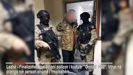 """RENEA """"zbarkon"""" në Lezhë, arrestohet 40-vjeçari i rrezikshëm (Video)"""