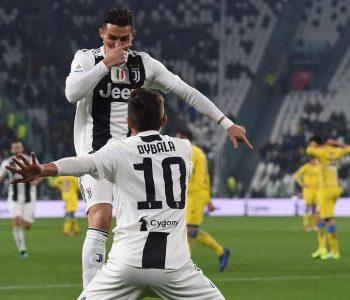 Cristiano Ronaldo turpërohet në stërvitje, Dybala shkrihet së qeshuri (Video)