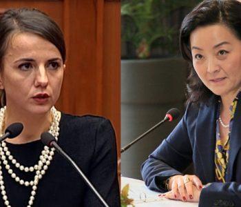 Rudina Hajdari e nervozuar pas mbledhjes së Këshillit Politik, përmend edhe ambasadën amerikane