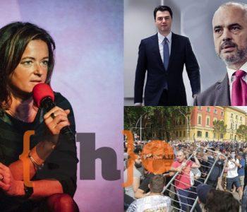 """""""Po shpejtoni shkatërrimin"""", Tanja Fajon mesazh politikës shqiptare: Mos shfrytëzoni rastin"""